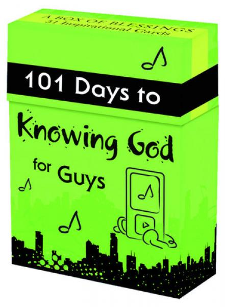 BX 050 Blessing Box - 101 Days To Knowing God for Guys