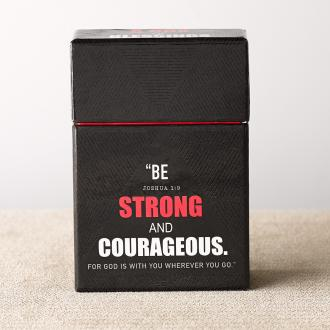 BX 096 Blessing Box - Be Strong & Courageous