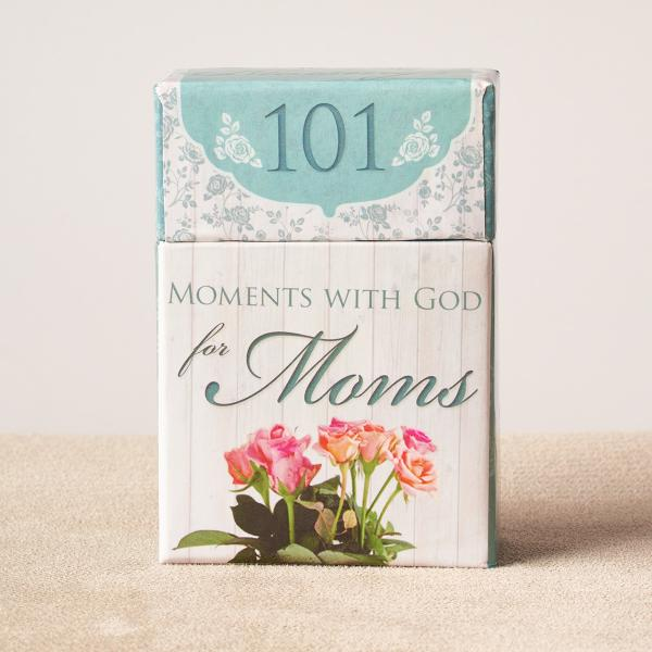 BX 106 Blessing Box - 101 Moments With God For Moms - Christian Art Gifts