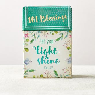 BX 107 Blessing Box - Let Your Life Shine