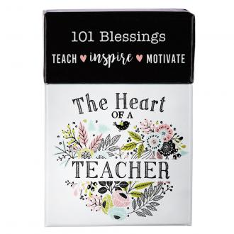 BX 110 Blessing Box - The Heart Of A Teacher