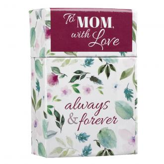 BX 111 Blessing Box - To Mom With Love Always and Forever