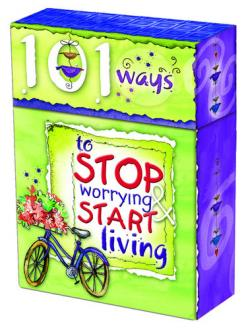 BX 003 Blessing Box -101 Ways To Stop Worrying And Start Living
