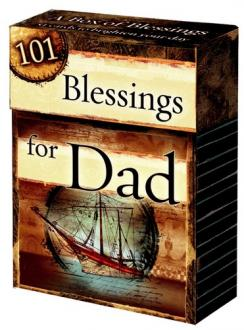 BX 033 Blessing Box - 101 Blessings For Dad