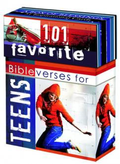 BX 053 Blessing Box - 101 Favorite Bibelverses for Teens