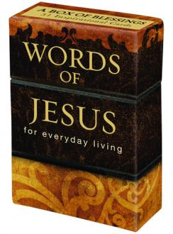 BX 064 Blessing Box - Words of Jesus For Everyday Living