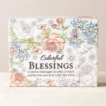 CBX 002 Boxed Coloring Cards - Colorful Blessings
