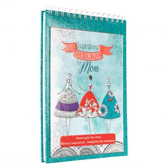 CLR 011 Fargebok - Inspirational Coloring Book for Mom