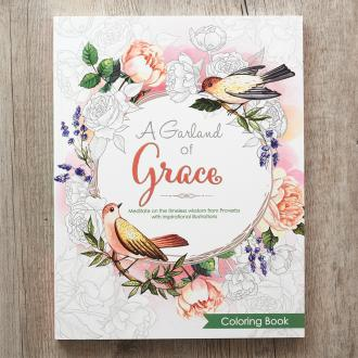CLR 024 Fargebok - A Garland of Grace