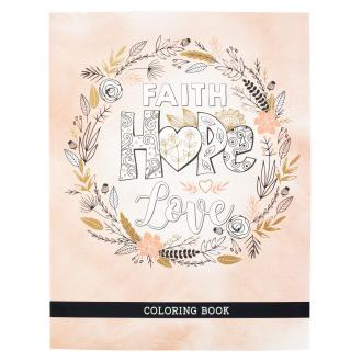 CLR 043 Fargebok- Faith Hope Love