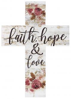 CRO 0169 Trekors 18 cm - Faith Hope Love