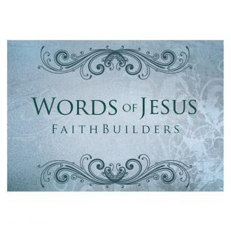 FAB 034 Faith Builders Cards - Words of Jesus