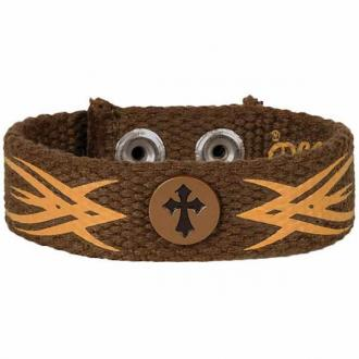 FGCB 111 Armbånd - Tribal Cross Faith Gear Canvas Bracelet