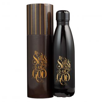 FLS 009 Vannflaske - Be Still & Know That I Am God (500 ml)