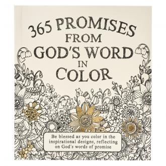 GB 086 Fargebok - 365 Promises From God's Word In Color