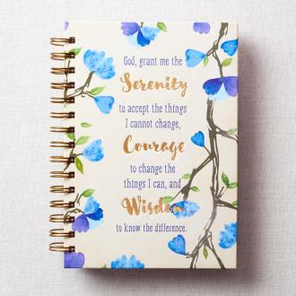 JLW 039 Notisbok - Serenity Courage Wisdom (Serenity Prayer)