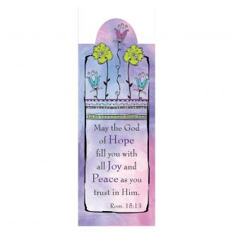 MBM 097 Magnetisk Bokmerke - May The God Of Hope Fill You With All Joy And Peace As You Trust Him
