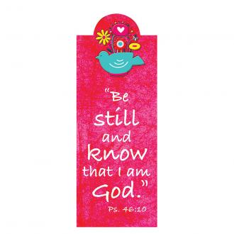 MBM 100 Magnetisk Bokmerke - Be Still And Know That I Am God