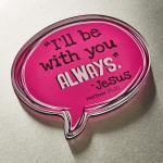 MGA 001 Magnet m/etui - I'll Be With You Always,