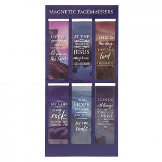 MGB 056 Magnetisk Bokmerke - Lift Up Your Hands (6 pk)