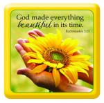 MGE 002 Magnet - God Made Everything Beautiful...