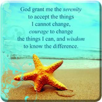 MGE 022 Magnet - Serenity Prayer