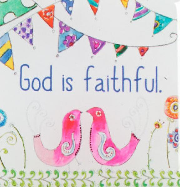 Everyday Blessings Magnets - God Is Faithful