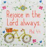 Everyday Blessings Magnets - Rejoice In The Lord Always (Phil. 4:4)