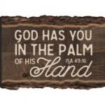 MGT 0087 Magnet - God Has You In The Palm Of His Hans