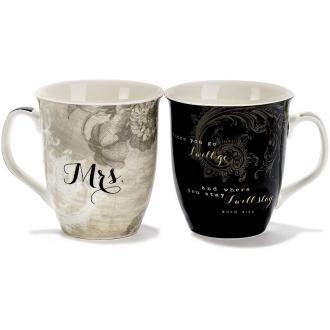 MUG 264 Koppesett - Mr & Mrs Together Forever