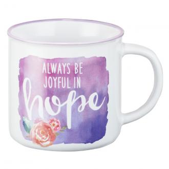 MUG 455 Kopp - Always Be Joyful In Hope (330 ml)