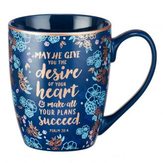 MUG 478 Kopp - Desire Of Your Heart, Psalm 20:4