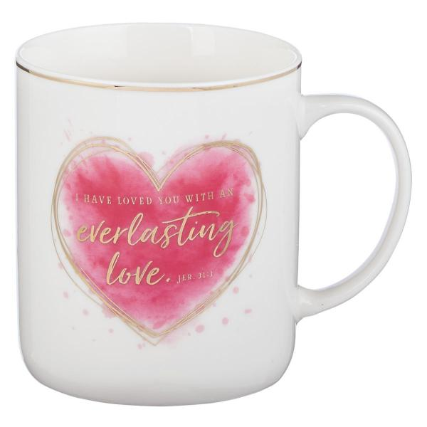 MUG 536 Kopp - I Have Loved You With An Everlasting Love Jer. 31:3 (420 ml)