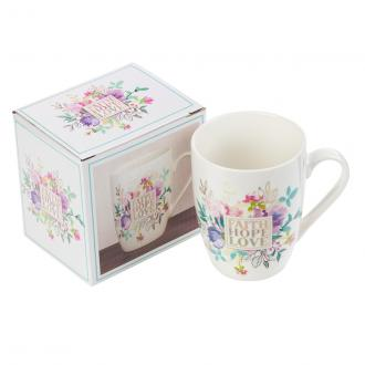 MUG 546 Kopp - Faith Hope Love