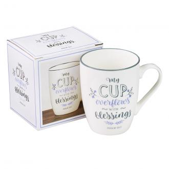 MUG 556 Kopp - My Cup Overflows With Blessings (360ml)