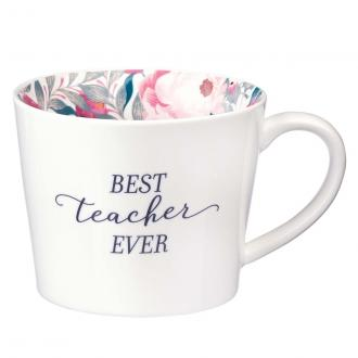 MUG 611 Kopp - Best Teacher Ever (400 ml)