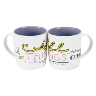 MUG-440 Kopp - I Can Do All Things Through Christ