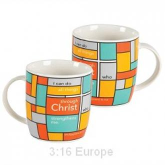 MUG-452 Kopp - I Can Do All Things Through Christ Who Strengthens Me