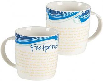 MUG 454 Kopp - Footprints (360 ml)