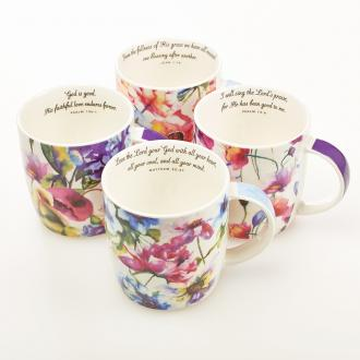 MUGS 03 Koppesett - Seeds Of Love Set of 4