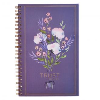 NBW 015 Notisbok - Trust in the Lord Wirebound Notebook - Proverbs 3:5