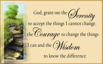Kortpakke - Serenity Prayer