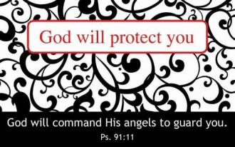 Kortpakke - God Will Protect You (25 stk)
