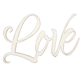 PLA 053 Veggdekor - Love (Laser Cut Out 45 x 28 cm)