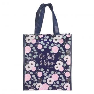 TOT 104 Shopping Bag - Be Still & Know