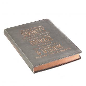 JL 294 Notisbok LuxLeather - Serenity Prayer