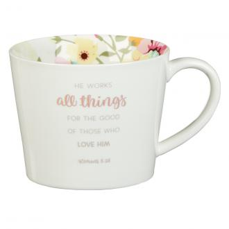 MUG 534 Kopp - He Works All Things For The Good Of Those Who Love Him