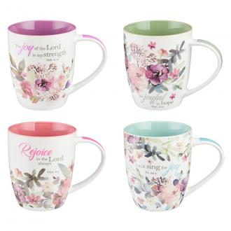 MUGS 14 Koppesett - Rejoice Collection Set of 4
