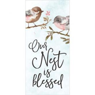 VBS 0003 Tabletop - Our Nest is Blessed (4 x 9cm)